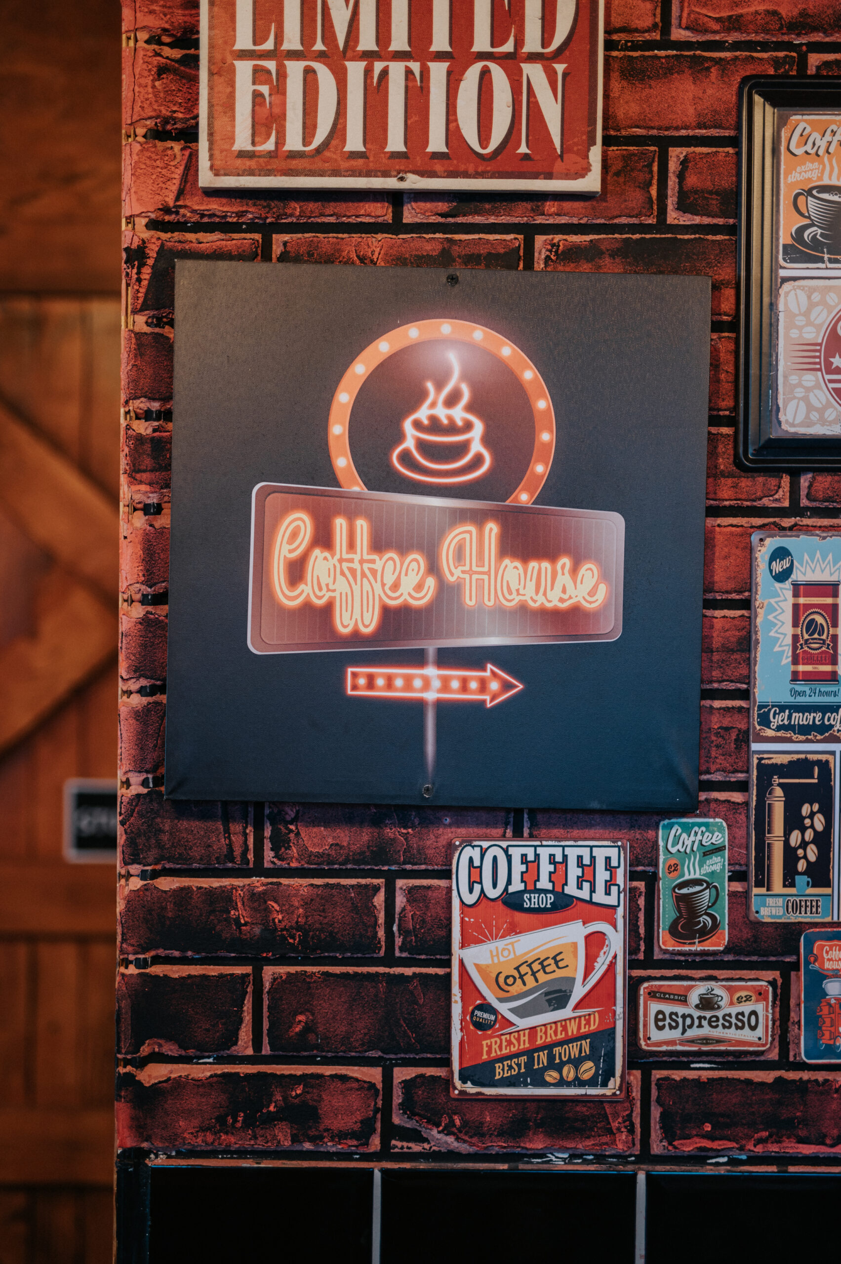 Brunch Coffee Menu