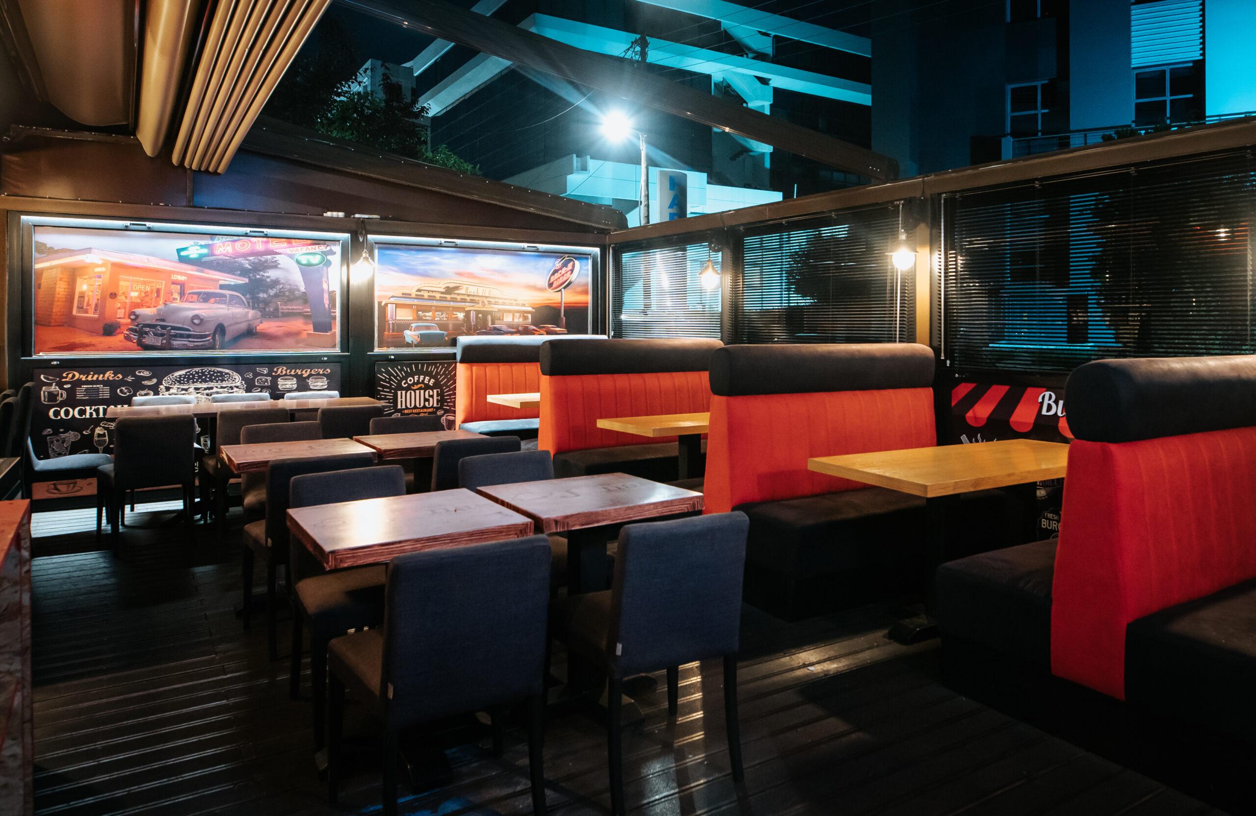 Jonas Burger Bar σάλα Μαρούσι